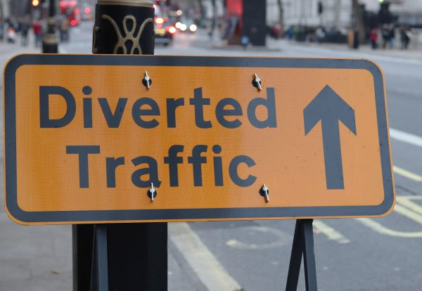 Stop procrastinating : Diverted Traffic