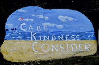 Care, kindness, consider